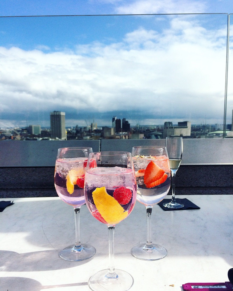 gin and tonic rooftop bar